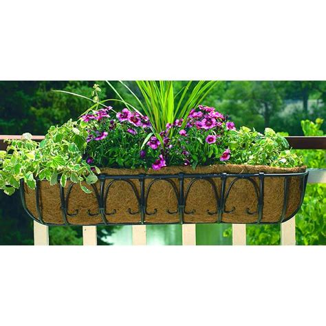 Cobraco Planters cobraco bronze 36 inch kingston trough planter ht102 bz window planter