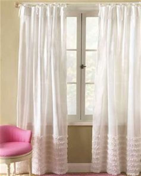 White Ruffled Curtains For Nursery 1000 Images About Curtains On White Curtains Voile Curtains And White Nursery