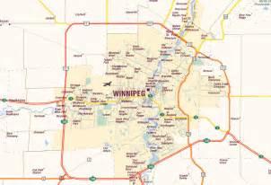 winnipeg map and winnipeg satellite image
