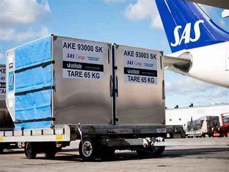 sas cargo to digitize its uld operations in collaboration with unilode air cargo