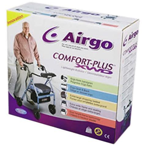 airgo comfort plus create airgo comfort plus xwd rollator iridescent blue