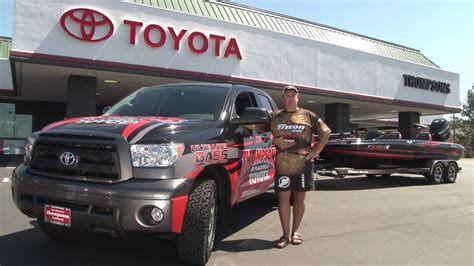 Kent Brown Toyota Thompson S Toyota Tundra And Bass Boat With Kent Brown