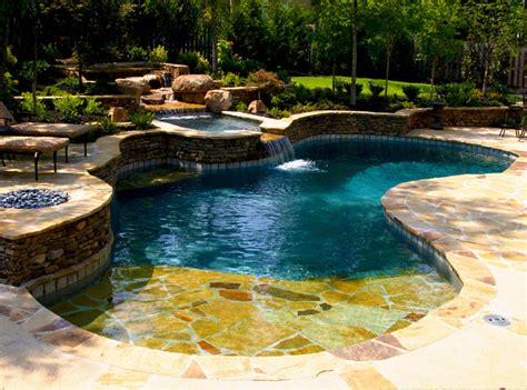 pool and spa designs devonshire natural pool spa design