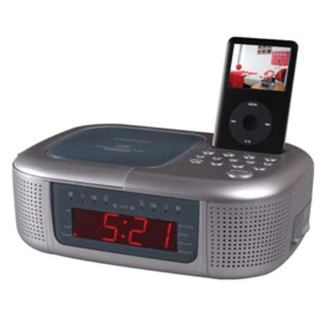 emerson cd stereo dual alarm clock radio with for ipod ic2196 review