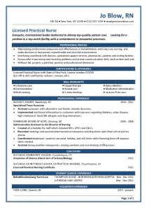 would you mind looking at my resume new grad lpn allnurses