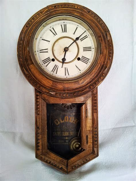 clock made of clocks collectibles antique wall clock pre 1930 made in japan ebay