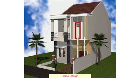 gambar desain wallpaper gambar desain rumah minimalis modern 2 lantai type 36