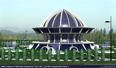 bahá í house of worship baha i house of worship concept for 2117ad by dcmstarships on deviantart