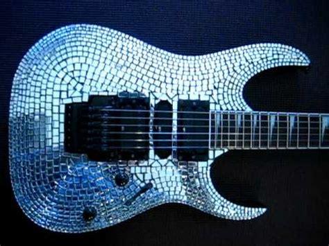 tutorial guitar mirror ibanez rg guitar with mirror mosaic top youtube