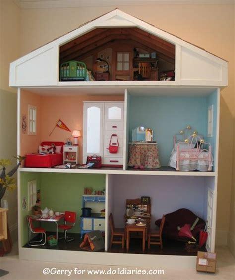Handmade Dolls Houses - handmade doll house for 18 quot dolls american doll