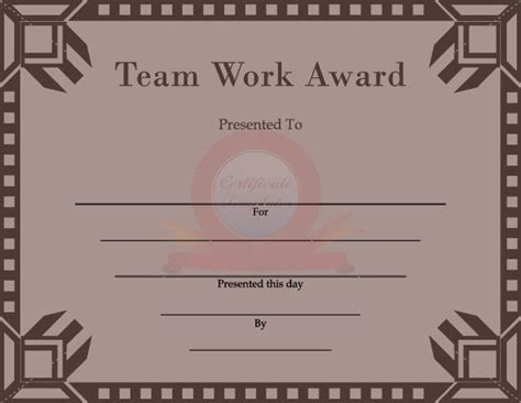 team awards certificates templates 1000 images about certificate template on pinterest