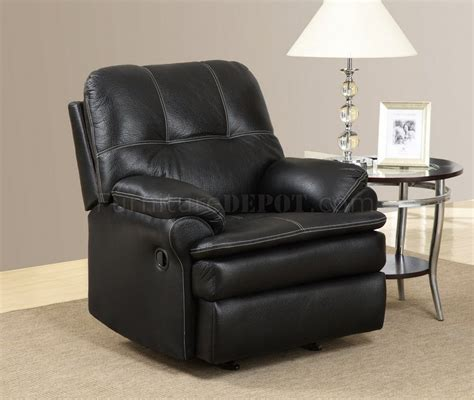 Black Fabric Recliner Chair by U1078 Motion Sofa Black Printed Fabric By Global Furniture Usa