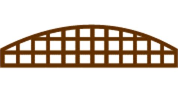 Shaped Fence Panels Convex Trellis Arch Shaped Darlaston Builders Merchants