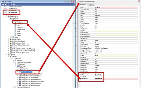 form design properties in ax 2012 how to use edit methods to mark records microsoft