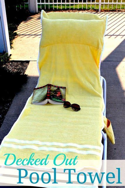Towels With Pocket For Lounge Chair by Lounge Chair Towel Cover With Pocket Stuff To Make