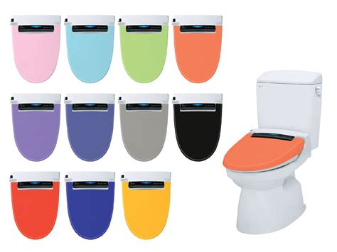 inax toilet seat  multi colored covers
