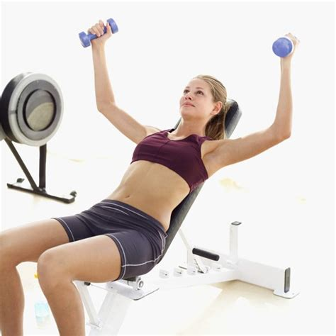 dumbbell pectoral exercises no bench the proper way of doing incline dumbbell flyes woman