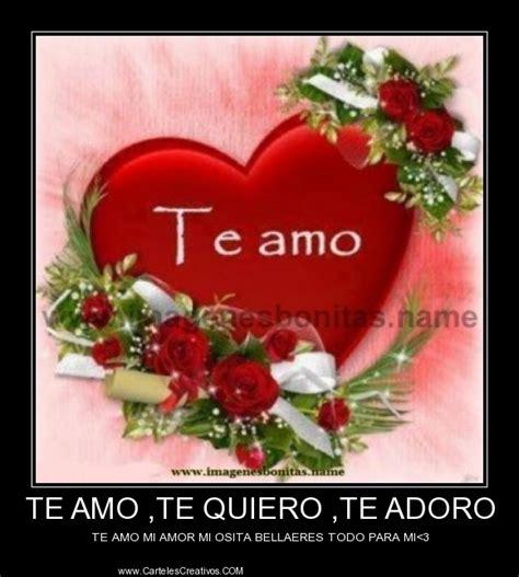 imagenes amor te adoro la adoro mi amor imagui