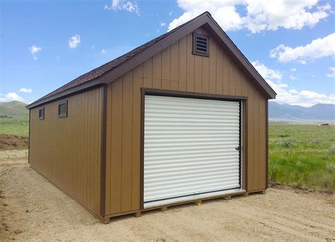 Montana Shed Center by Prefab Garages Montana Shed Center