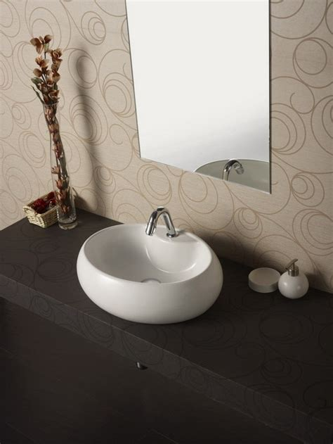 table top wash basin how to change the look of the washbasin interior