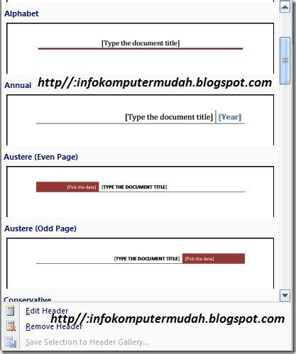 cara membuat header footer html blog sarah tutorial