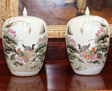 Decorative Vases With Lids Decorative Vase With Lid At 1stdibs