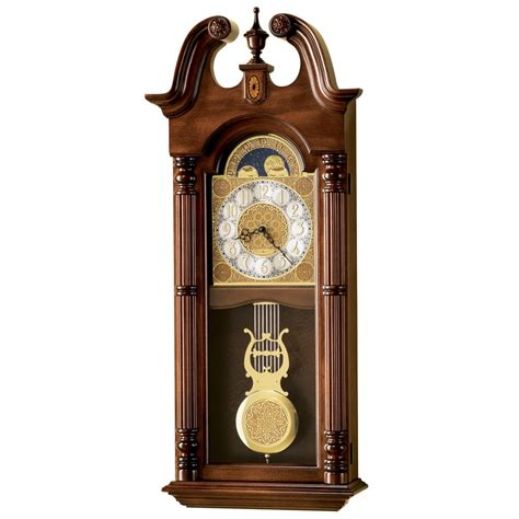 howard miller maxwell dual chime wall clock 620226 - Howard Miller Dual Chime Clock