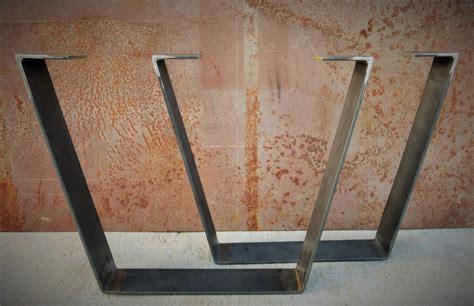 diy flat steel table legs metal table legs flat bar