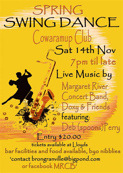 swing dance music list spring swing dance live music your margaret river region