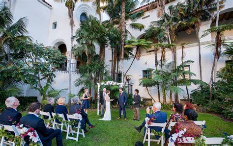 Wedding Venues Santa Barbara by Santa Barbara Courthouse Santa Barbara Venues