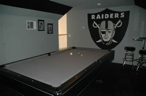 raiders bedroom oakland raiders man caves images google search oakland