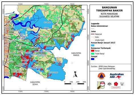 Rd Di Makassar contingency plan development in makassar openstreetmap