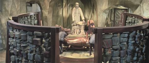 Ape Room by Planet Of The Apes 1968 Set Design Invisible Themepark