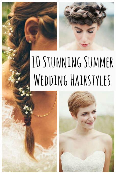 10 summer wedding hairstyles