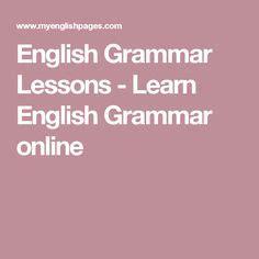 online tutorial english grammar 1000 images about english language grammar on pinterest