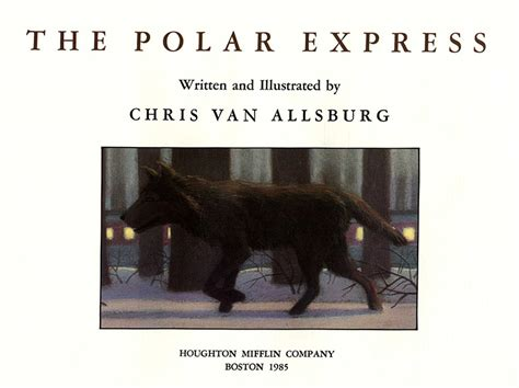 polar express picture book the polar express 1st edition 1st printing chris