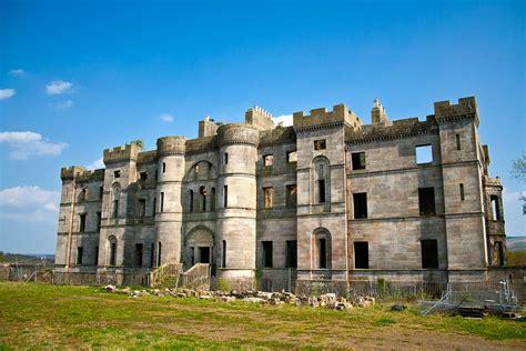 Our Town House Plans by Dalquharran Castle Abandoned Scotland