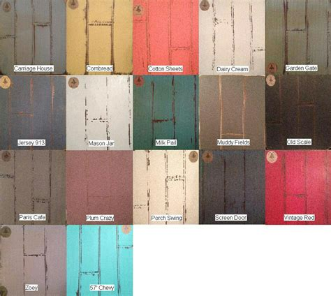 vintage farmhouse chalk paint colors furniture and decorating vintage farmhouse