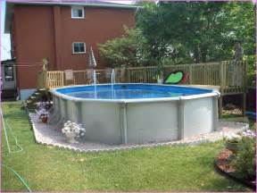 Landscape Ideas For Above Ground Pool Ideas For Room Decorations Above Ground Pool Landscaping