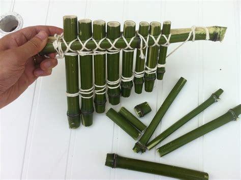 Fabriquer Des Objets En Bambou by Fabriquer Avec Du Bambou Une Flute De Pan Et M 234 Me Un