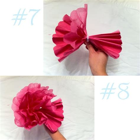 Tissue Paper Flowers Step By Step - best photos of tissue paper flower steps tissue paper