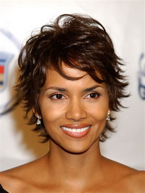 short haircut with lots of layers for women short choppy hairstyles