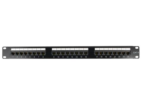 24 cat6 patch panel 24 cat6 rack mount patch panel 1u taa compliant