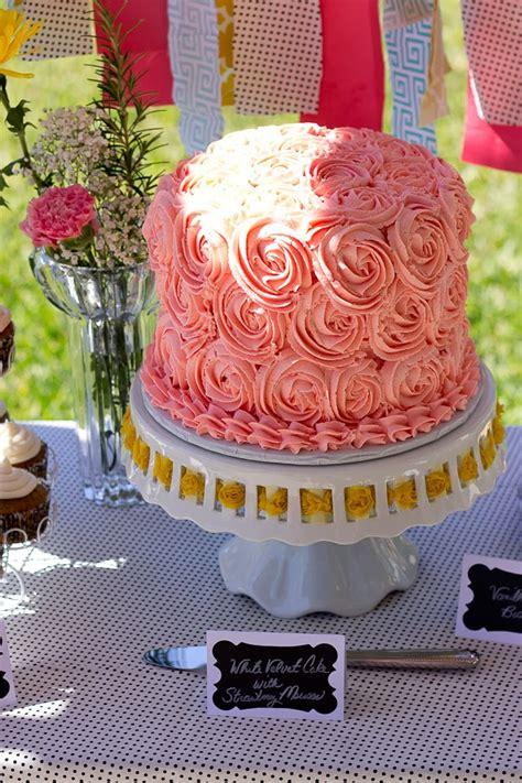 Garden Themed Baby Shower Cakes by Garden Tea Themed Baby Shower Zest
