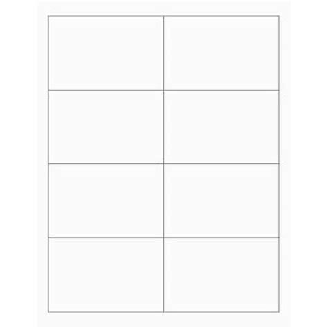 place card template 4 per sheet white printable place cards