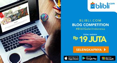blibli blog 100 mention congratz twitter 1day1dream