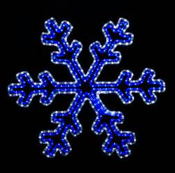 snowflakes stars 2 blue and white led snowflake with