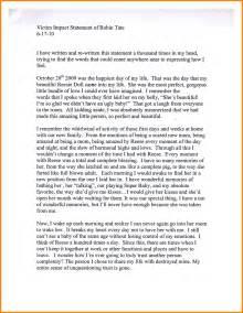 victim impact statement template 9 victim personal statement template statement 2017