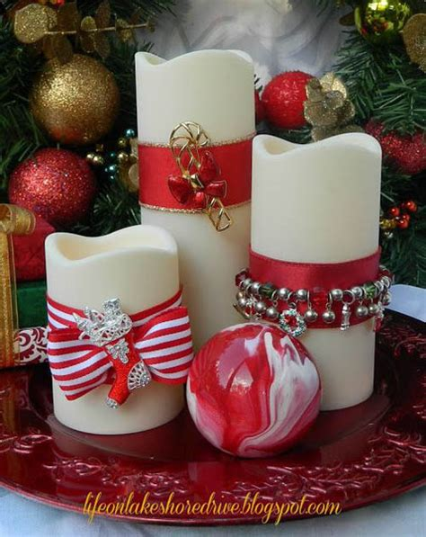 top christmas candle decorations ideas christmas celebration