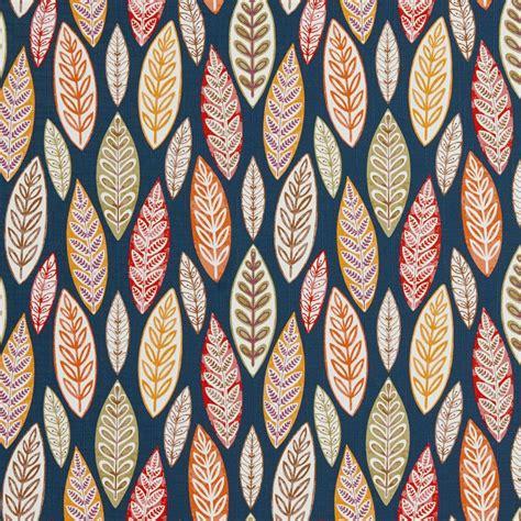 large print upholstery fabric b0510c multi colored large leaves print upholstery fabric